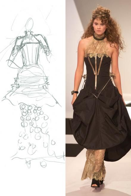 Natalia's Steampunk design for Under The Gunn