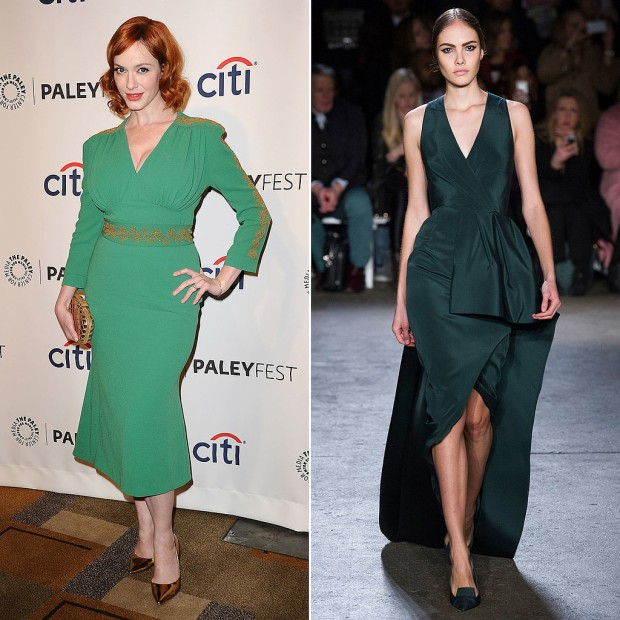 Christina Hendricks Emmy Dress Prediction: Christian Siriano!