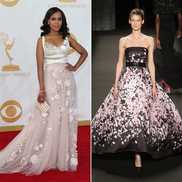 Kerry Washington Emmy Dress Prediction from PopSugar