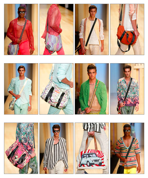 Custo Men SS15 Messenger and Tote Bags