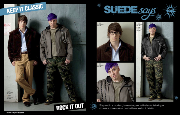 Suede Says Menswear Looks