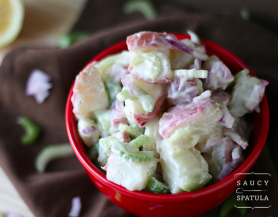 Wasabi Potato Salad