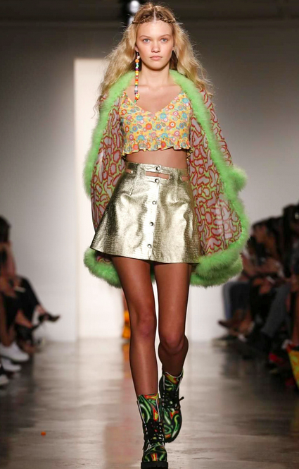 Jeremy Scott SS15 NY Fashion Week