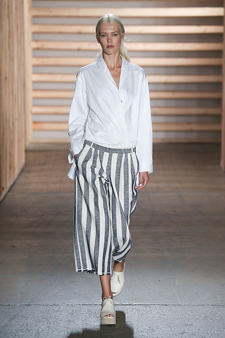 Tibi SS15 at NY Fashion Week