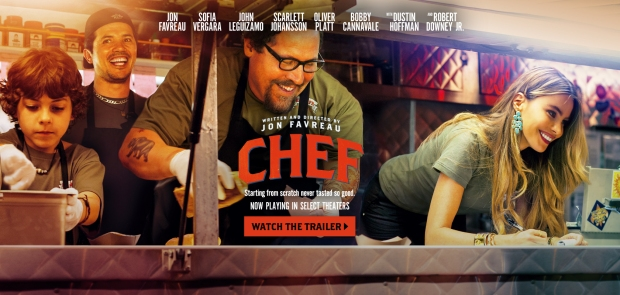 Chef The Movie Header