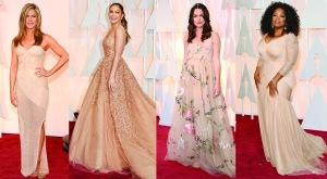 Oscars 2015 Nude Gowns