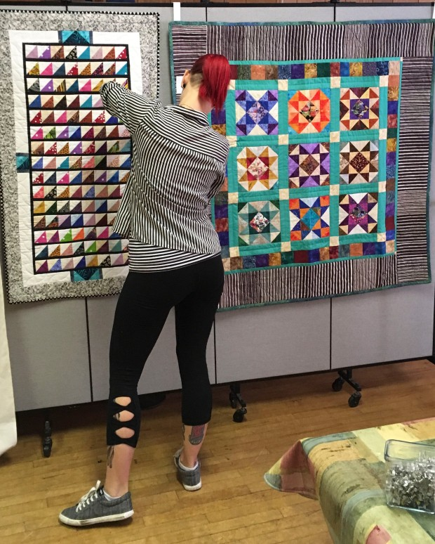 Dottie hanging quilts