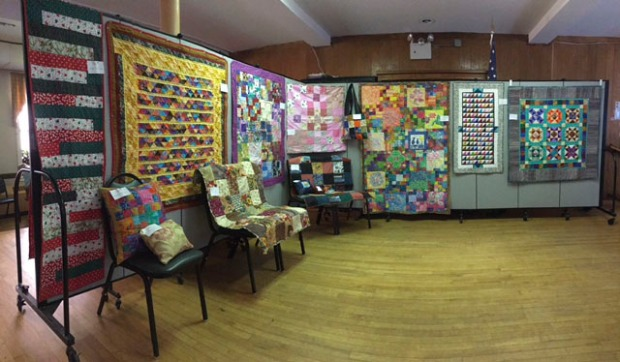 quilt show panorama